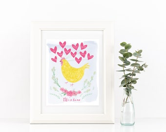Hen Party Print