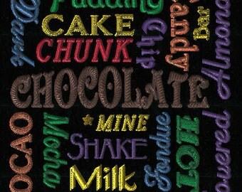 CHOCOLATE JUMBLE