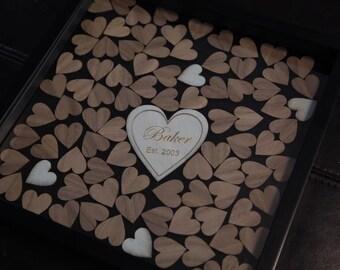 Valentine's Day Family Shadowbox