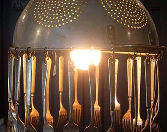 Colander and Utensil Light