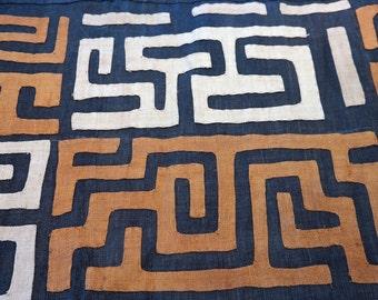 African Kuba Cloth/textile Kc007
