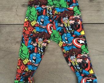 Marvel Avengers print leggings