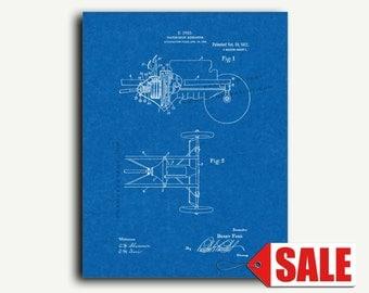 Patent Art - Henry Ford Transmission Patent Wall Art Print