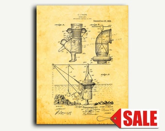 Patent Print - Diving Suit Patent Wall Art Poster