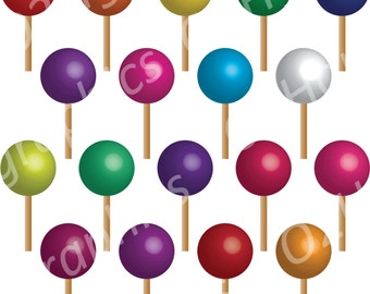 Lollipop clip art | Etsy