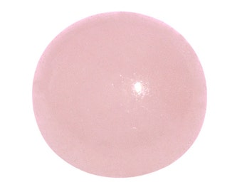 Pink Jade Dyed Round Cabochon Loose Gemstone 1A Quality 8mm TGW 2.00 cts.