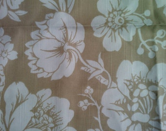 Duralee Fabric Sample 20997 Natural Indoor/Outdoor Fabric Cotton  USA