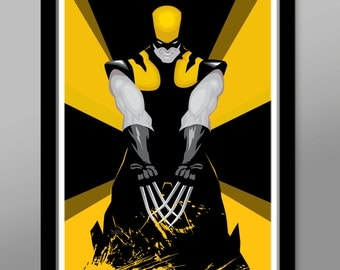 Wolverine Inspired Poster - Slice N Dice Edition - Print 330 - Home Decor
