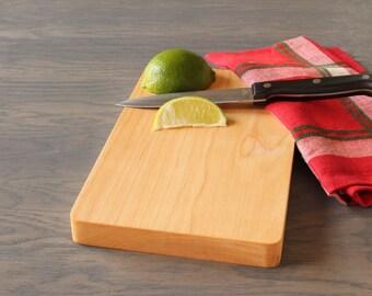 Wooden Cutting Board, Maple Bar Board, Bar Cutting Board, Camping Cutting Board