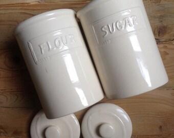 Pair of vases Flour + Sugar