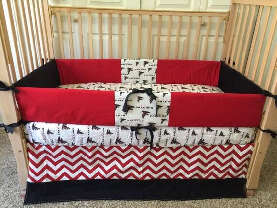 Atlanta Falcons Bedding Falcons Baby By Sewsweetbabydesigns