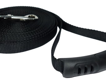 30 Foot Dog Leash - 3/4 Inch Nylon - Perfect for Backyard, Training, Excercise