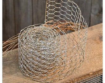 Free Shipping!! Sparkle Chicken Wire Ribbon