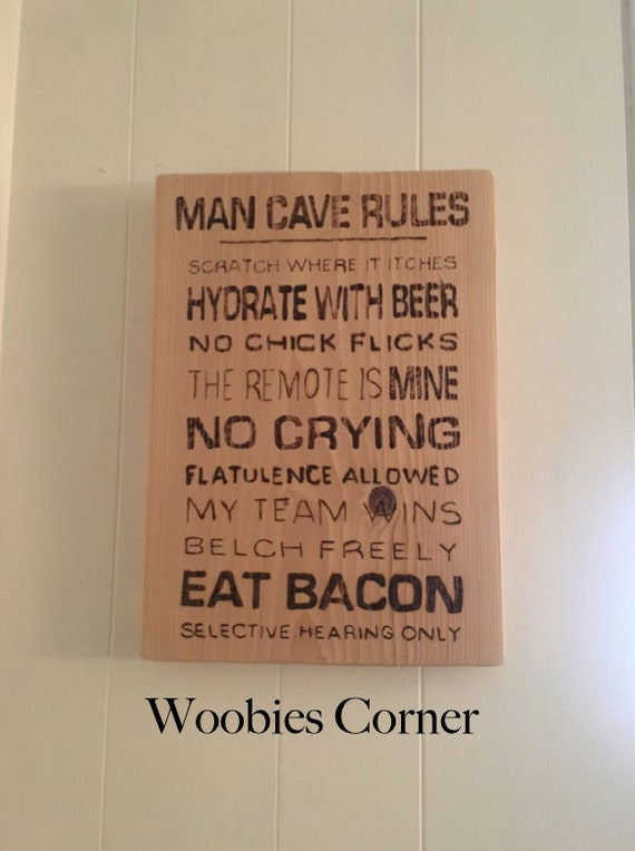 Man Cave Gifts For Dad : Gift for dad man cave sign fathers day by