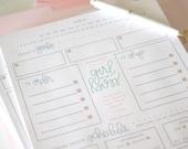 Printable: Etsy Shop Planner // Etsy Seller Note Pad by Chalkfulloflove