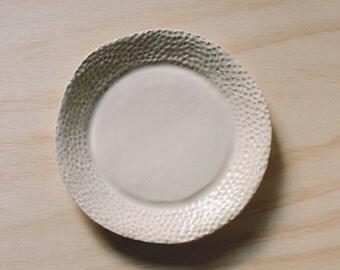 "10"" textured dinner plate"