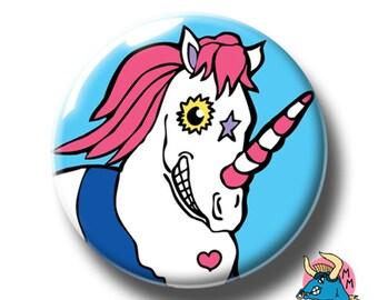 Unicorn Badge. Unicorn Pin. Unicorn Button. Pinback Button. Pin. Pin Badge. Pin Badges. Badges. Button. Buttons. Button Badges. Pins.