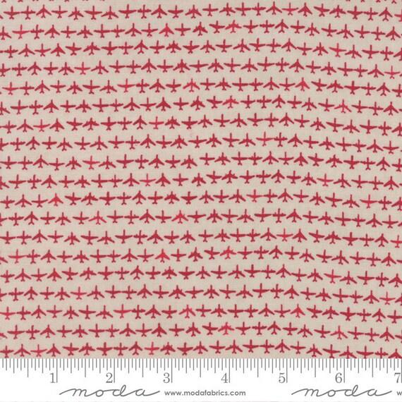 Airplane fabric by the yard flight fabric janet clare moda for Airplane fabric by the yard
