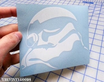 First Order Stormtrooper decal.. First Order Stormtrooper sticker.. Star Wars Inspired First Order Stormtrooper decal..