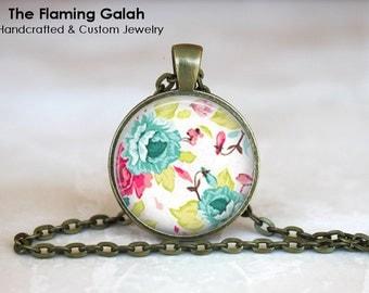 VINTAGE FLOWER Print • Pretty Flower • Art Deco Flower • Flower Jewellery • Gift Under 20 • Made in Australia (P0100)