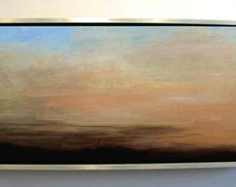 Sky and Land Study Original Large Oil Painting Stuart Caress