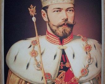 WW1 Russian Tsar Nikolai nice portray