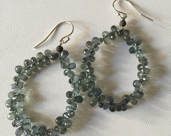 Stunning Saphire Earrings