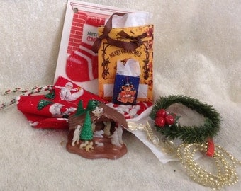 Collection of Small Christmas Items