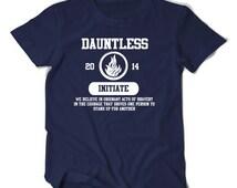 Dauntless Divergent initiate tee t shirt