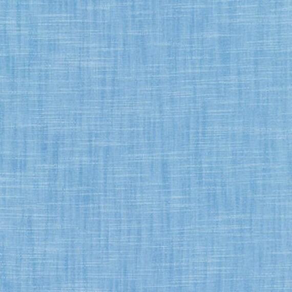 Blue Cotton Fabric by Robert Kaufman, Manchester, Blue Cotton Fabric