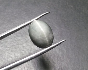 Natural 7.45ct Cats eye stone 11mm* 14mm Oval shape good quality Cabochon gemstone,Loose Gemstone 009