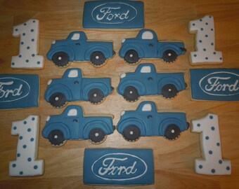 Ford Truck Cookies/1 dozen