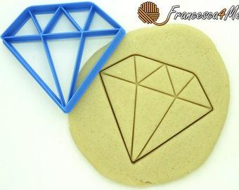 Diamond Cookie Cutter/Multi-Size