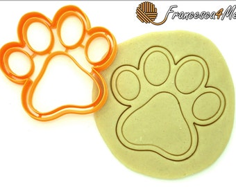 Paw Print Cookie Cutter/Multi-Size