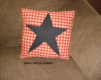 Star Pillow Covers