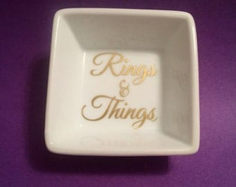 Rings and Things, Ring Dish