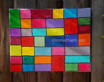 Colorful Blocks Painting