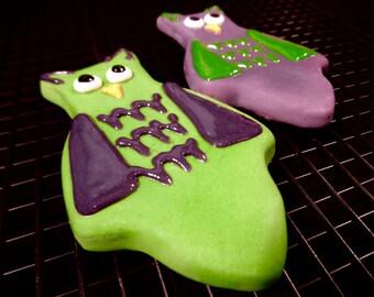 Gourmet Dog Treat: Homemade Owl Dog Cookie
