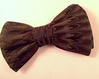 Feather Dapper Bow Tie