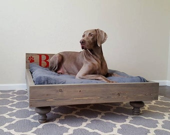 Dog Bed, Large Dog Bed, Large Breed Dog Bed, Jumbo Dog Bed, Cat Bed, My Best Friend's Custom Pet Bed, Giant Dog Bed
