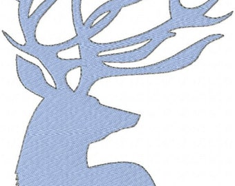 Machine Embroidery Design Antlers