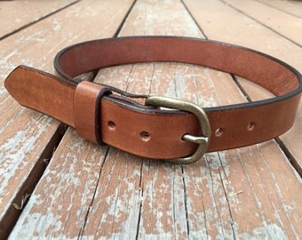 Handmade Leather Children's / Kid's Belt