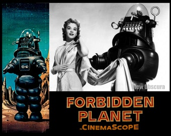 Forbidden Planet - Lobby Card Lithograph - Movie Poster Print - Limited Edition