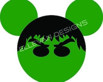 Hulk Disney iron on transfer