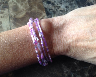 5 Strand Stretch a bracelet