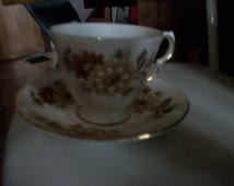 Vintage Queen  Anne Bone China tea cup and saucer