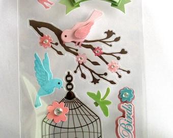Scrapbook Embellishments Love Birds EBS00020