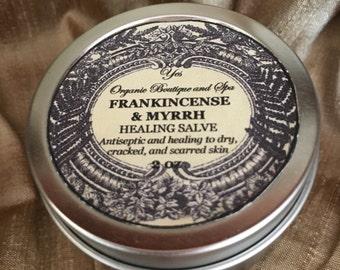 Frankincense & Myrrh Salve