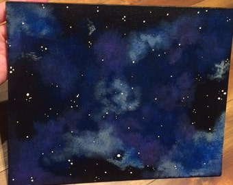 Cosmic Force - galaxy inspired painting