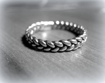 Braided, Wicker ring